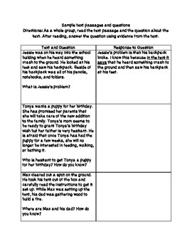 Common Core Aligned Substitute Lesson Plan