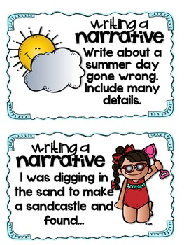 Common Core Aligned: Summer Writing Prompts and Pages