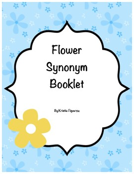Common Core Aligned: Synonym Flower Book