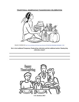 Common Core Aligned Thanksgiving Reading, Writing, & Coloring Activity
