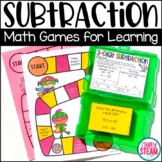 Envisions Math 2.0 Topic 11 Three Digit Subtraction Game Second Grade