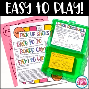 Three Digit Subtraction Game | Second Grade Math Games