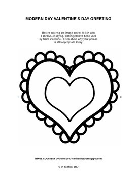 Common Core Aligned Valentine's Day Reading, Writing, & Coloring Activity