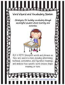 Common Core Aligned Vocabulary Kit