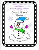 Common Core Aligned Winter Math Centers & Mini Lessons for the Smart Board