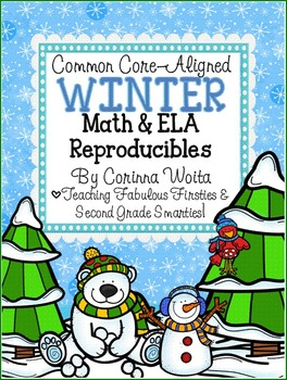 Common Core Aligned Winter Math & English Language Arts Pr