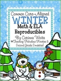 Common Core Aligned Winter Math & English Language Arts Print & Go Reproducibles