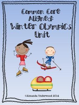 Common Core Aligned Winter Olympics Unit