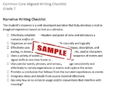 Common Core Aligned Writing Checklist (Grade 7)