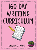 Common Core Aligned Writing Curriculum Bundle - Year Long Plans