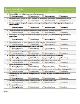 Common Core Aligned Writing Evaluation