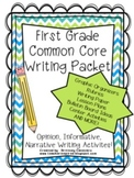 Common Core Writing Pack - Aligned with First Grade CCS!