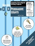 Common Core Aligned Writing Projects:  Persuasive Essays: