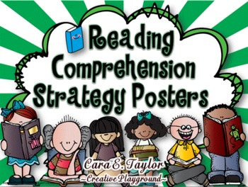 Common Core Aligned~Reading Comprehension Strategy Posters