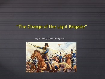 """Common Core Analysis of """"The Charge of the Light Brigade"""""""