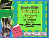 Common Core Animal Inquiry Research and Writing Project Gr