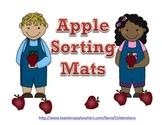 Common Core Apple Sorting Mats