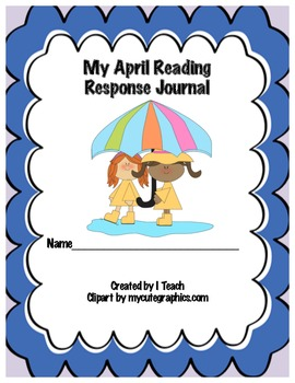 Common Core April Reading Response Journal