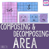Area- Composing and Decomposing Area - Composite Shapes