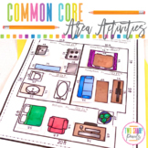 Common Core Area Unit: Interactive Notes, Worksheets and Games