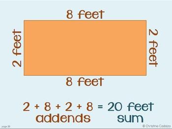 Perimeter Problems Math Unit