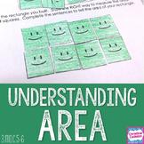 Area - Understanding Area Math Unit