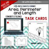 Common Core: Area and Perimeter Task Cards