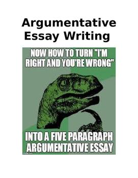 Common Core Argumentative Essay