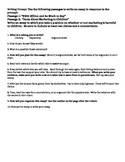 Common Core Argumentative Writing