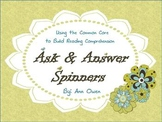Common Core Ask & Answer Spinners