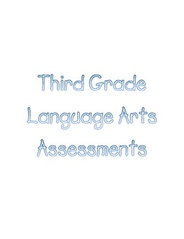 Common Core Assessment Binder Labels