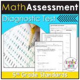 Common Core Assessment Diagnostic Test Prep - Grade 5