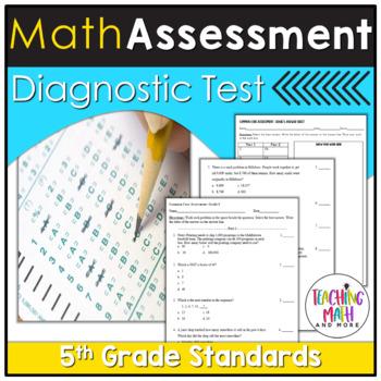 Common Core Assessment Diagnostic Test Prep - Grade 5