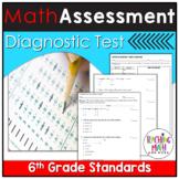 Math Diagnostic Assessment Grade 6 | Math Diagnostic Test