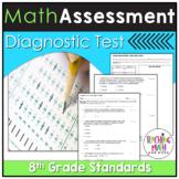 Common Core Assessment Diagnostic Test Prep - Grade 8