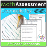 Common Core Assessment Diagnostic Test Prep - Grade 8