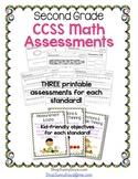 Common Core Assessment Pack-Math Grade 2