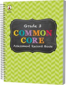 Common Core Assessment Record Book Grade 3 SALE 20% OFF 104802
