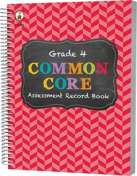 Common Core Assessment Record Book Grade 4 SALE 20% OFF 104803