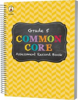Common Core Assessment Record Book Grade 5 SALE 20% OFF 104804