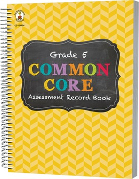 Common Core Assessment Record Book Grade 5 SALE 20% OFF 104804