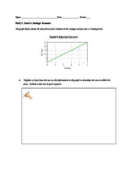 Common Core Assessment Tasks 3 and 4