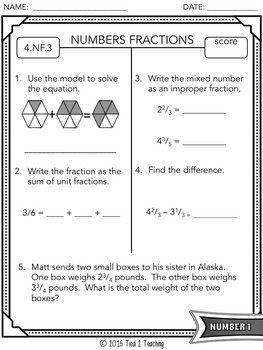 Common Core Assessments - 4th Grade