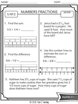 Common Core Assessments - 5th Grade