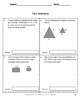 Common Core Assessments Math - 7th - Seventh Grade - Geometry 7.G with Key