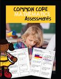 Common Core Assessments -Math Grade 1