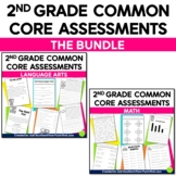 Common Core Assessments for 2nd Grade {Language Arts & Math Combo Pack}