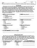 Common Core Assessments for Asking and Answering Questions