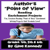 """Point of View"" Reading and Writing Enrichment Projects!"