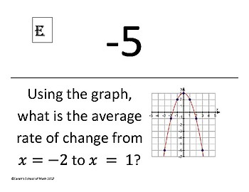 Common Core Avg Rate of Change Around the World Activity (func, graphs, tables)